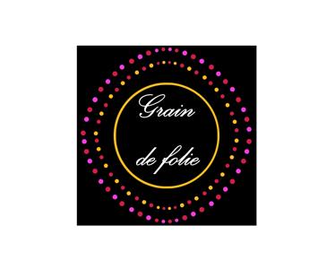 logo- institut de beau Grain de folie à Héric par khamaleon